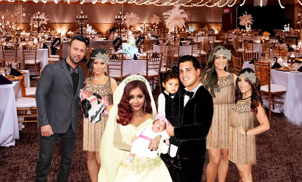 Snooki Wedding Pictures: Snooki, Jionni Lavalle Are Married ...