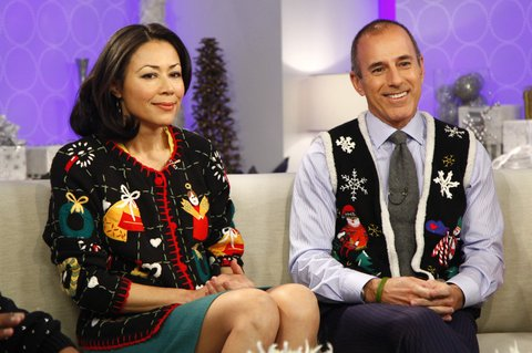 Ann Lauer Ann Curry And Matt Lauer