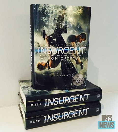 Insurgent - New Book Cover