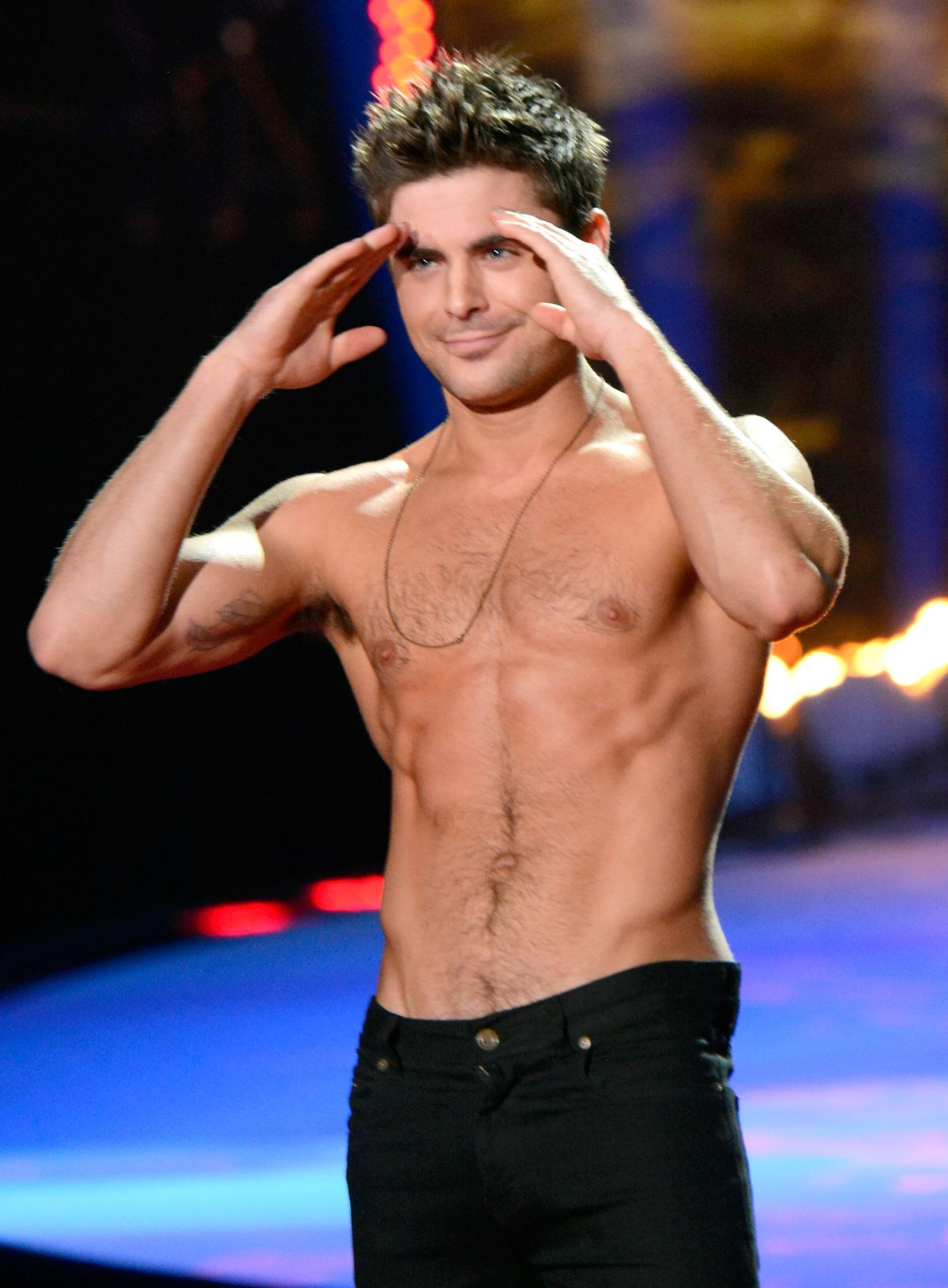 Zac Efron at 2014 MTV Movie Awards - Show