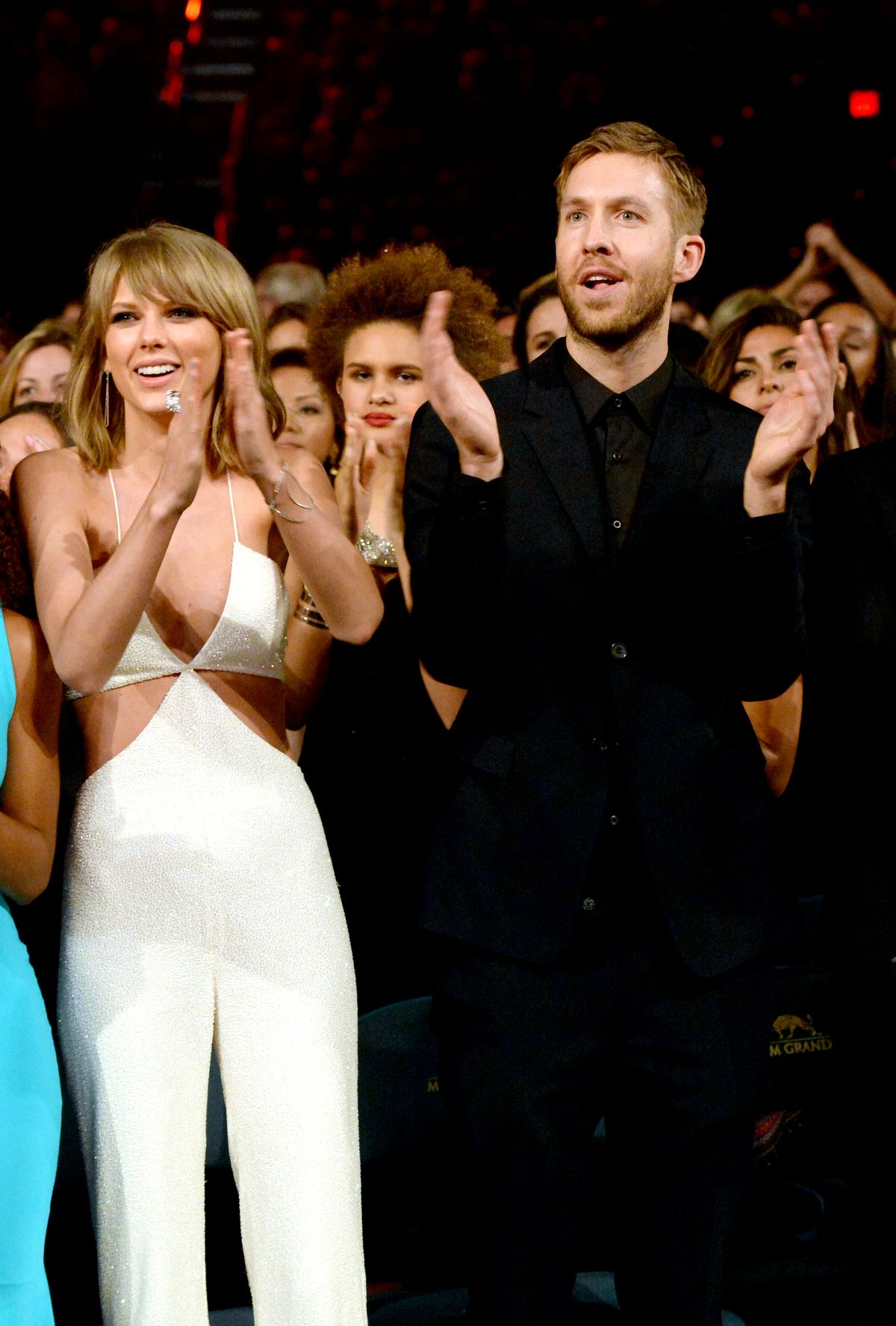 Taylor Swift and Calvin Harris