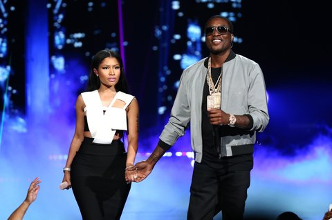 onstage during the 2015 BET Awards at the Microsoft Theater on June 28, 2015 in Los Angeles, California.