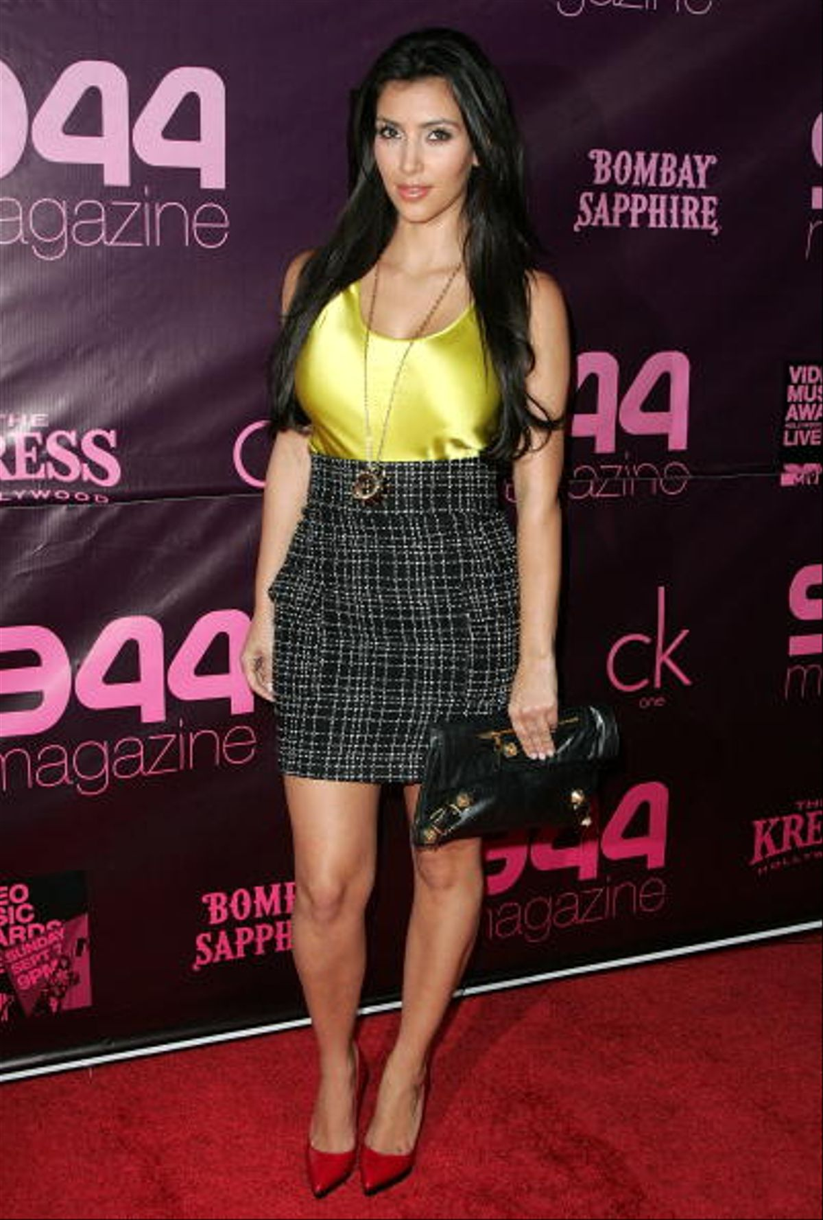 LOS ANGELES, CA - SEPTEMBER 03: TV personality Kim Kardashian attends 944 Magazine's official 2008 MTV Video Music Awards Kickoff Party at The Kress on September, 3, 2008 in Hollywood, California. (Photo by Jason LaVeris/FilmMagic)
