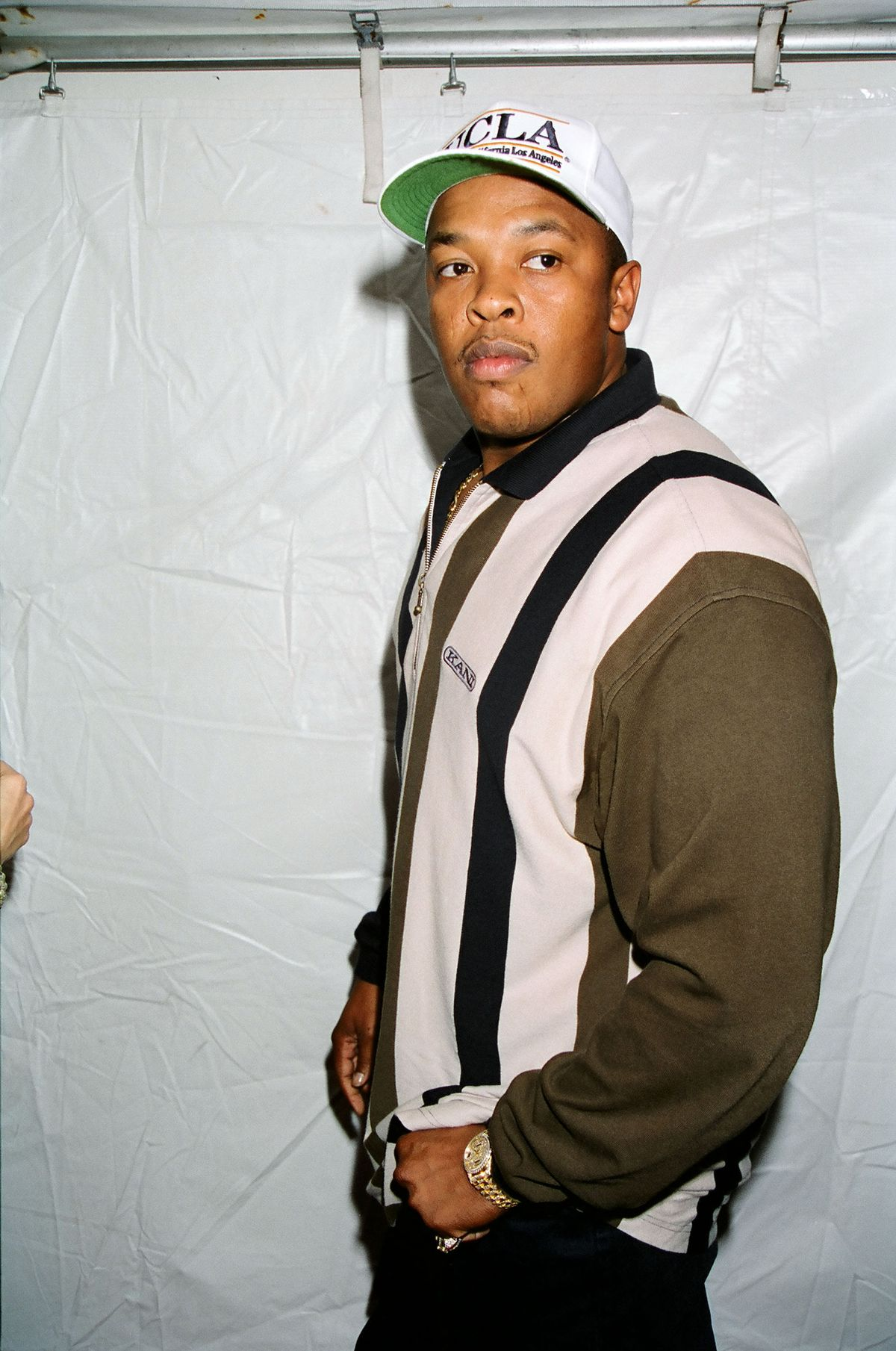 Dr. Dre during 1995 MTV Video Music Awards Show at Radio City Music Hall in New York City, New York, United States. (Photo by Jeff Kravitz/FilmMagic, Inc)