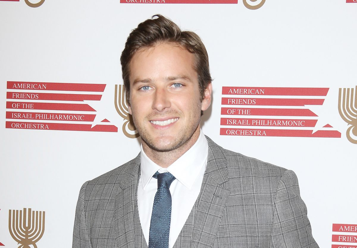 BEVERLY HILLS, CA - JULY 16: Armie Hammer arrives at the Israeli Philharmonic Orchestra's Lifetime Achievement Award Ceremony honoring Hans Zimmer held at Wallis Annenberg Center for the Performing Arts on July 16, 2014 in Beverly Hills, California. (Photo by Michael Tran/FilmMagic)