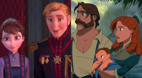 Disney Tarzan and Frozen