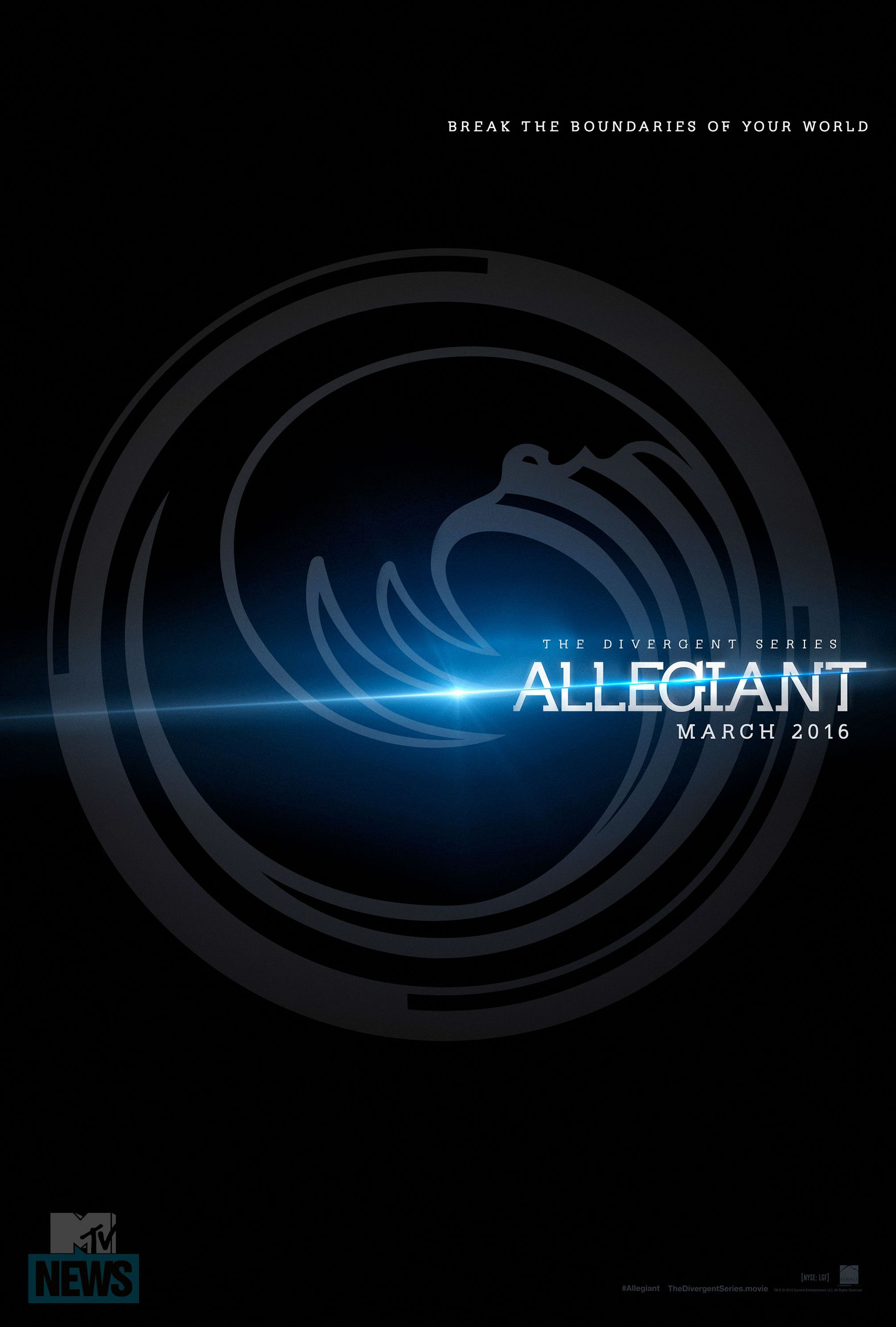 The Divergent Series; Allegiant Logo