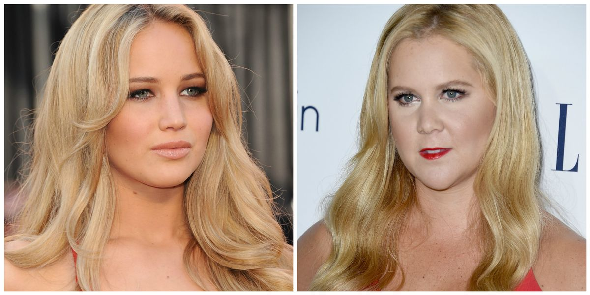 Amy Schumer and Jennifer Lawrence2