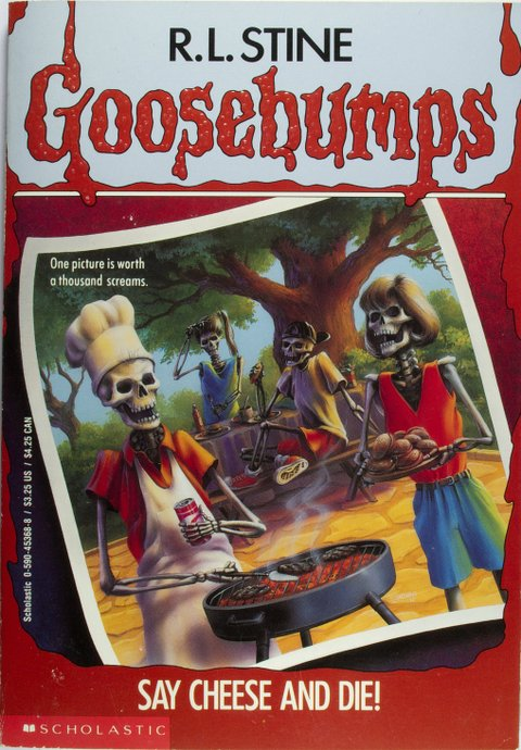 book report on goosebumps-say cheese and die Goosebumps horrorland #08: say cheese and die screaming paperback book 699 add to cart out of stock top what can we help you find order status and shipping.