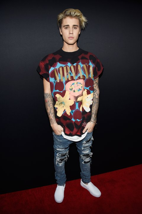 Why Does Justin Bieber Need To Defend His Nirvana T-Shirt? - MTV