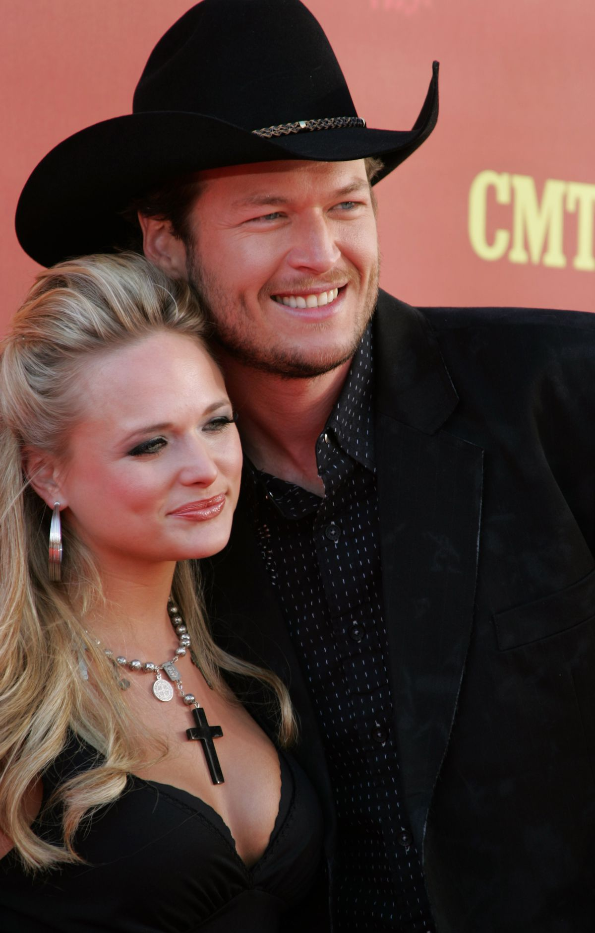 Miranda Lambert and Blake Shelton at the The Curb Event Center at Belmont University in Nashville, Tennessee (Photo by Tony R. Phipps/WireImage)
