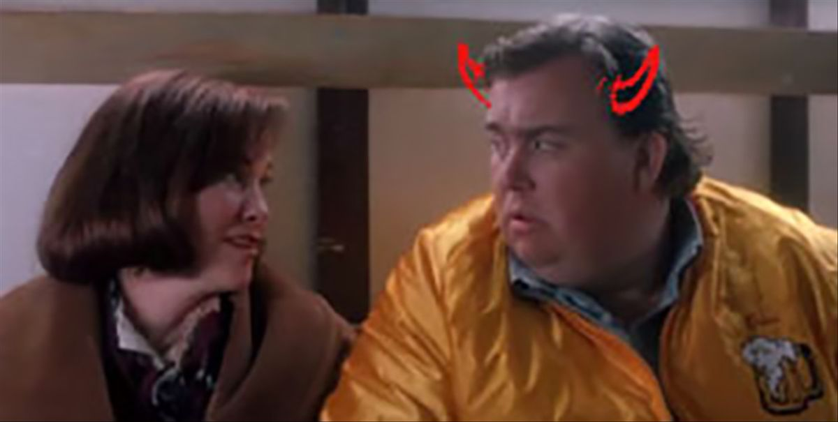 Home Alone John Candy Diavolo