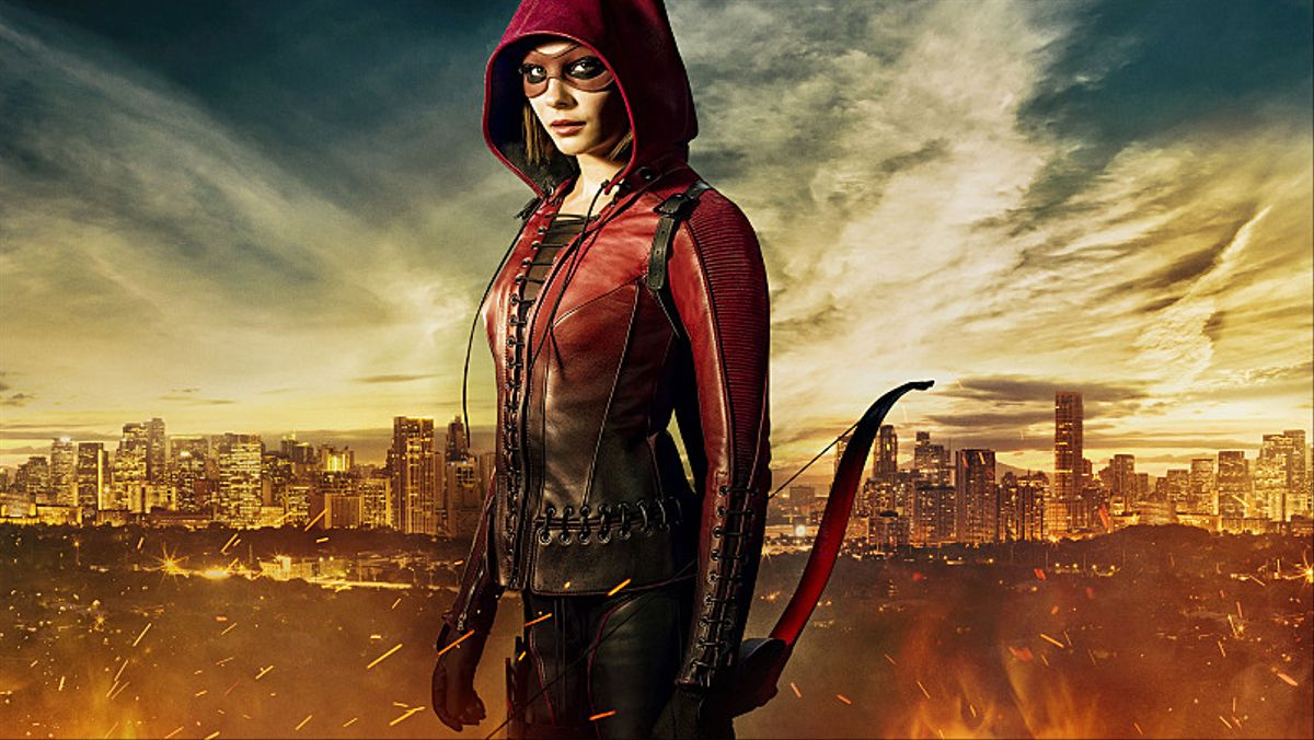 Arrow -- Image: AR323B_SPEEDY_0562 -- Pictured: Willa Holland as Thea Queen / Speedy -- Photo: Liane Hentscher/The CW -- © 2015 The CW Network, LLC. All Rights Reserved