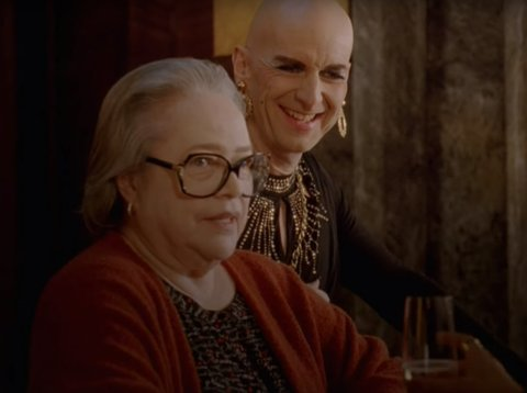 Iris and Liz Taylor in AHS Hotel Finale