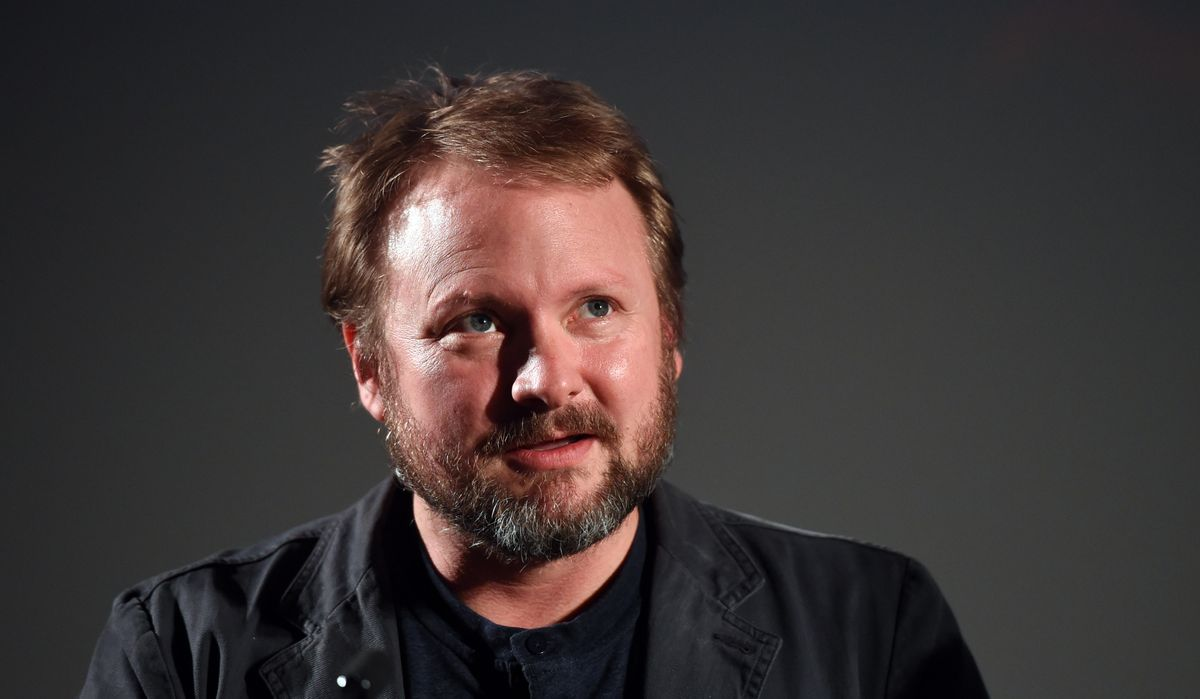 LONDON, ENGLAND - JULY 27: Director Rian Johnson introduces the film 'Under The Skin' as part of the BFI Screen Epiphanies in partership with American Express at The BFI Southbank on July 27, 2015 in London, England. (Photo by Stuart C. Wilson/Getty Images)