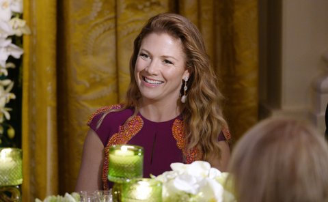 WASHINGTON, DC - MARCH 10: First Lady Sophie Gregoire Trudeau of Canada attends a State Dinner at the White House March 10, 2016 in Washington, D.C. Hosted by President and First Lady Obama, the dinner is in honor of Prime Minister Justin Trudeau and First Lady Sophie Gregoire Trudeau of Canada. (Photo by Olivier Douliery-Pool/Getty Images)