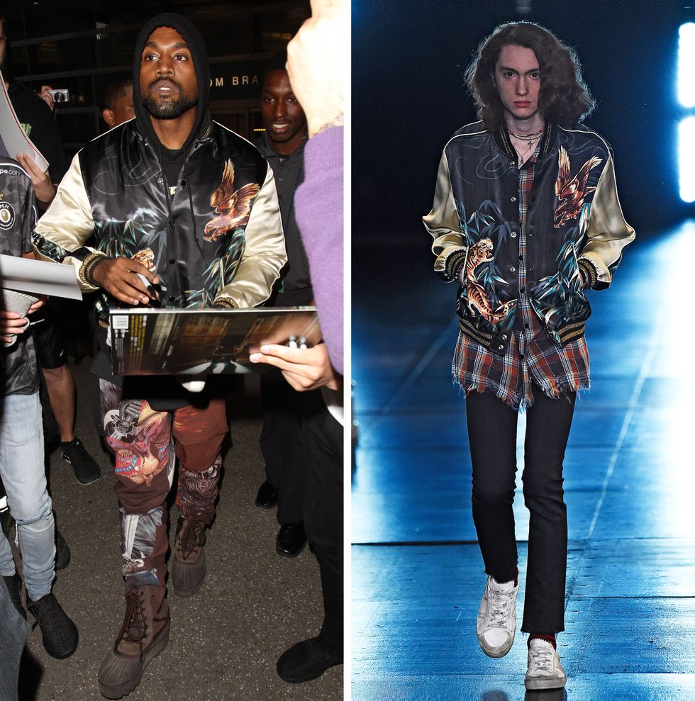 Kanye West, Saint Laurent