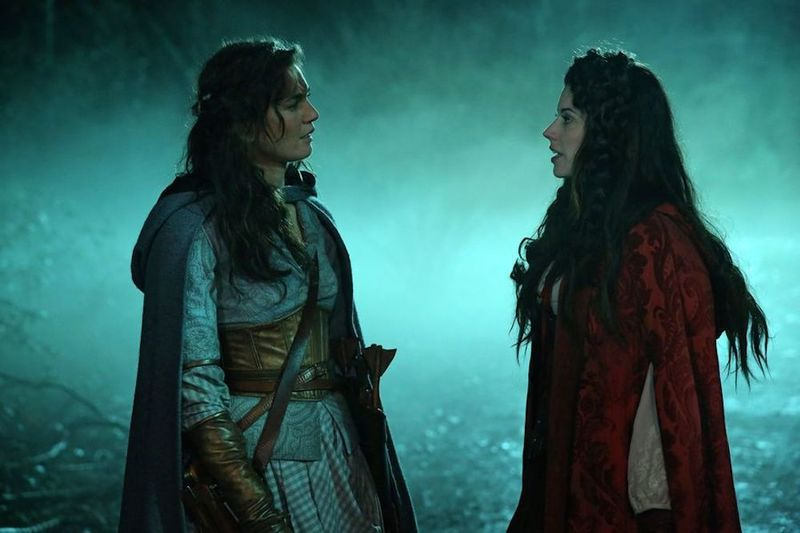 Once Upon A Time Pairs Dorothy And Red Riding Hood In The