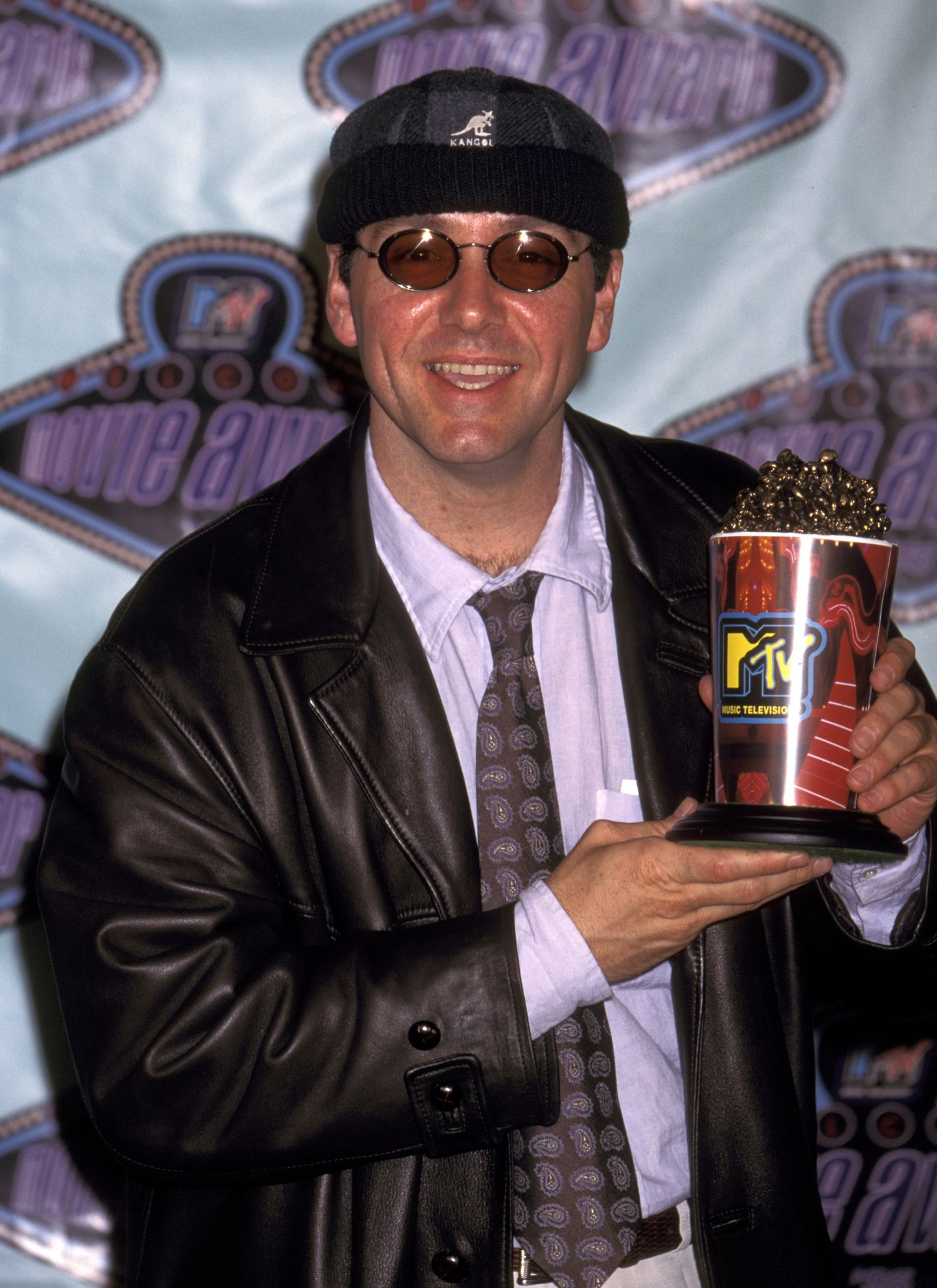 Kevin Spacey during 1996 MTV Movie Awards at Walt Disney Studios in Burbank, California, United States. (Photo by Ron Galella/WireImage)