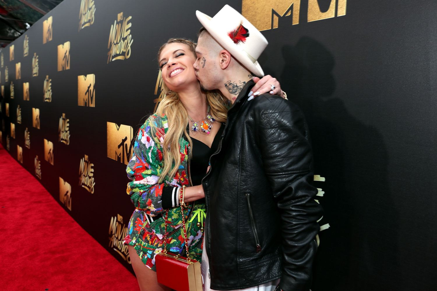 BURBANK, CALIFORNIA - APRIL 09: Rapper Chanel West Coast (L) and singer Liam Horne attend the 2016 MTV Movie Awards at Warner Bros. Studios on April 9, 2016 in Burbank, California. MTV Movie Awards airs April 10, 2016 at 8pm ET/PT. (Photo by Christopher Polk/Getty Images for MTV)