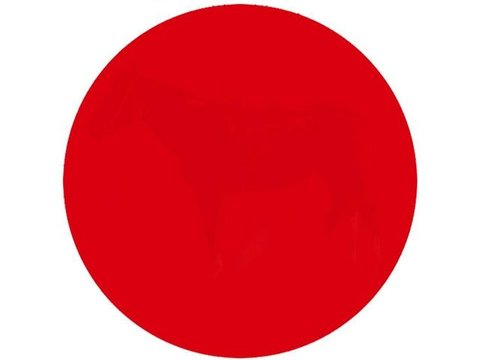 the red dot from the Playbuzz eye test