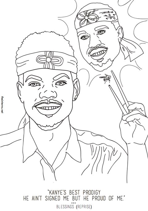 Chance The Rappers Coloring Book Inspired An Actual
