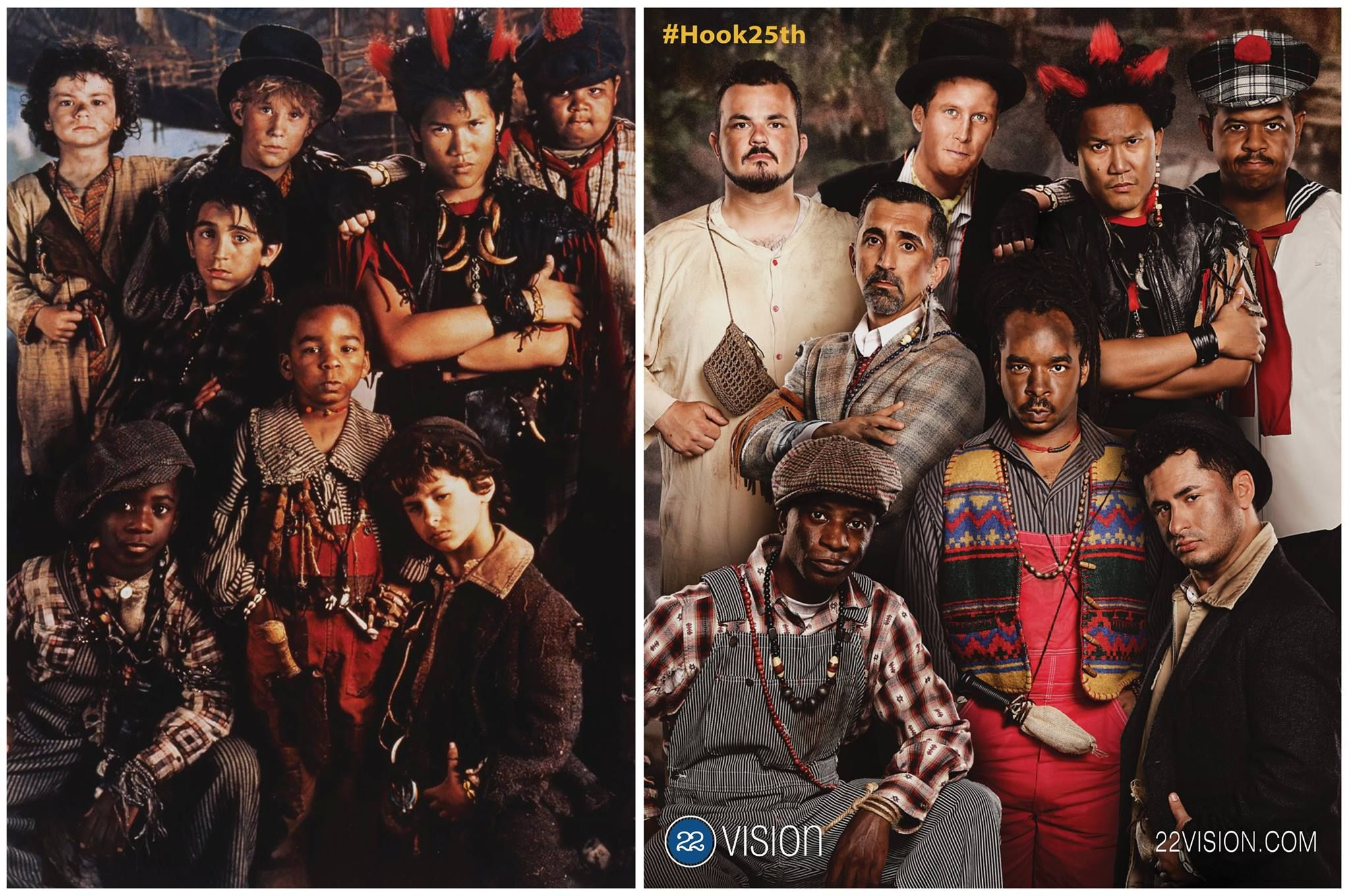 Hook 25th anniversary Lost Boys reunion photos are bangerang
