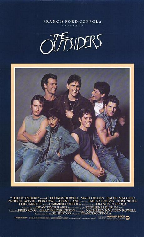 the portrayal of teenagers in the movie outsiders The outsiders is a frequently challenged book and has been banned in many schools and libraries due to its portrayal of gang violence and underage smoking and drinking although today it is often a studied text in many high schools, which is fantastic because while the lingo may have changed it's still as relevant today as it was in 19.
