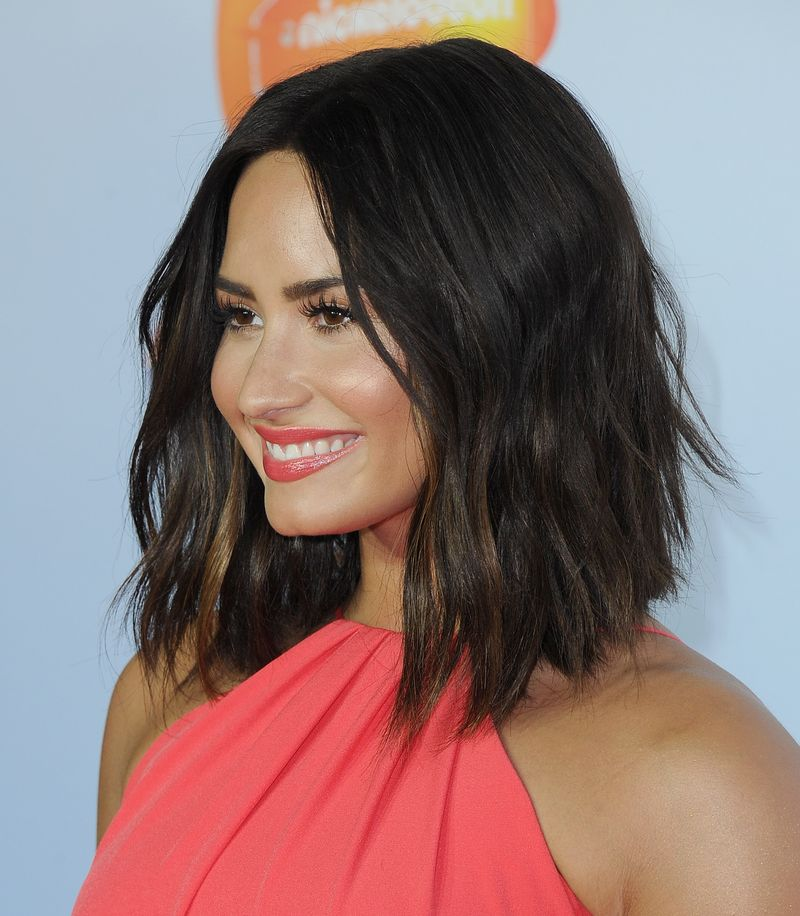 Demi Lovato's New Haircut Was Immediately Ruined By Slime ...