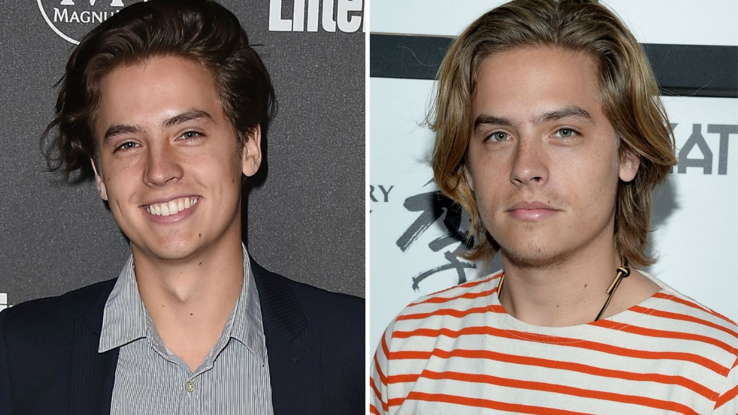 Cole And Dylan Sprouse Are Naughty And Nice In American Eagle Holiday Shoot - MTV Rowan Blanchard Girl Meets World