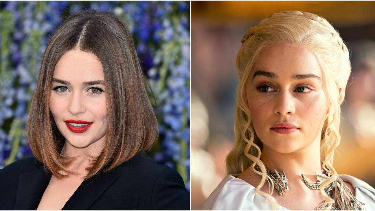 Emilia clarke finally dyed her hair blonde like daenerys roots 05 oct emilia clarke finally dyed her hair blonde like daenerys m4hsunfo