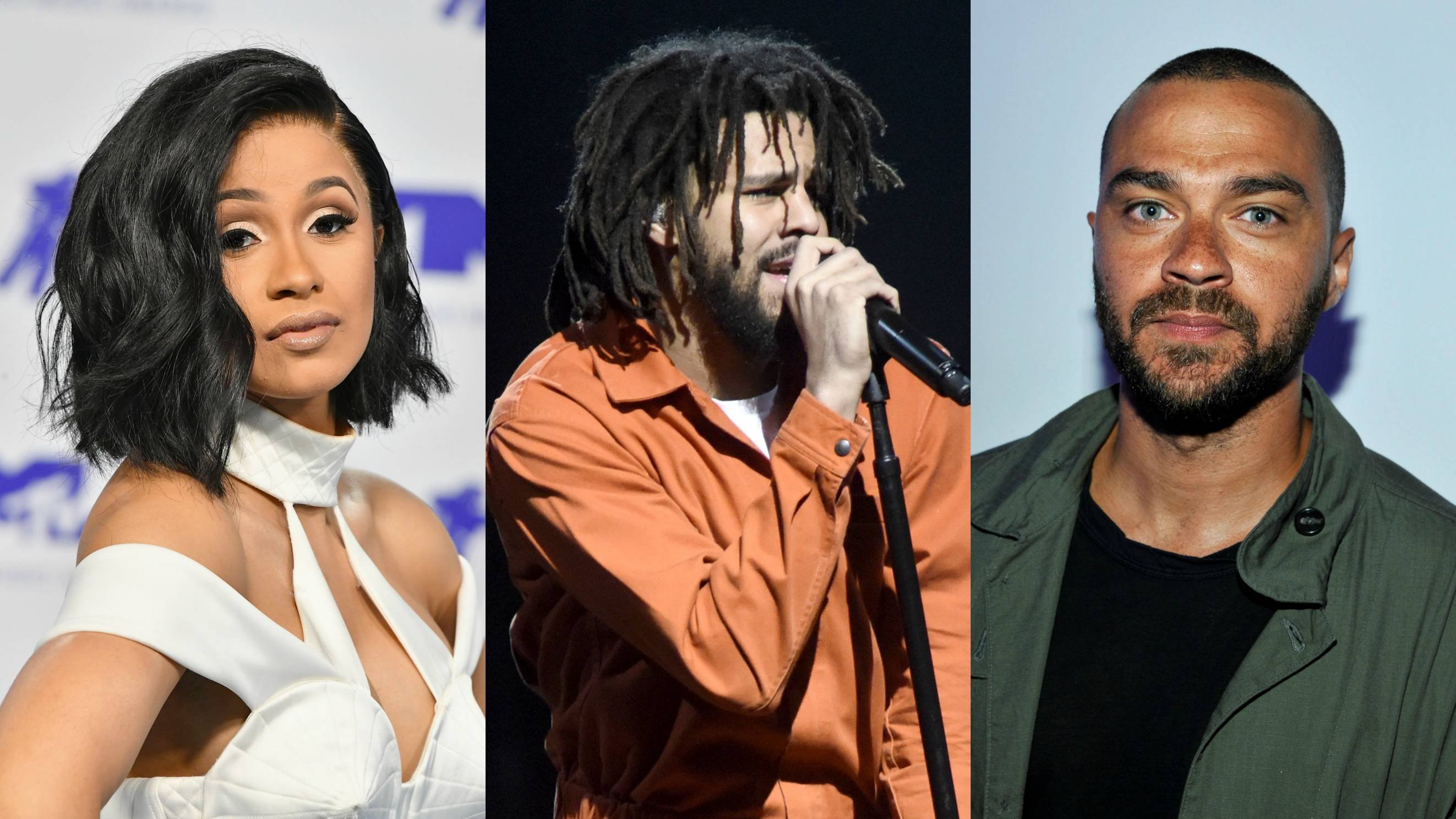 Cardi B, J  Cole, Jesse Williams, And More Encourage The NFL