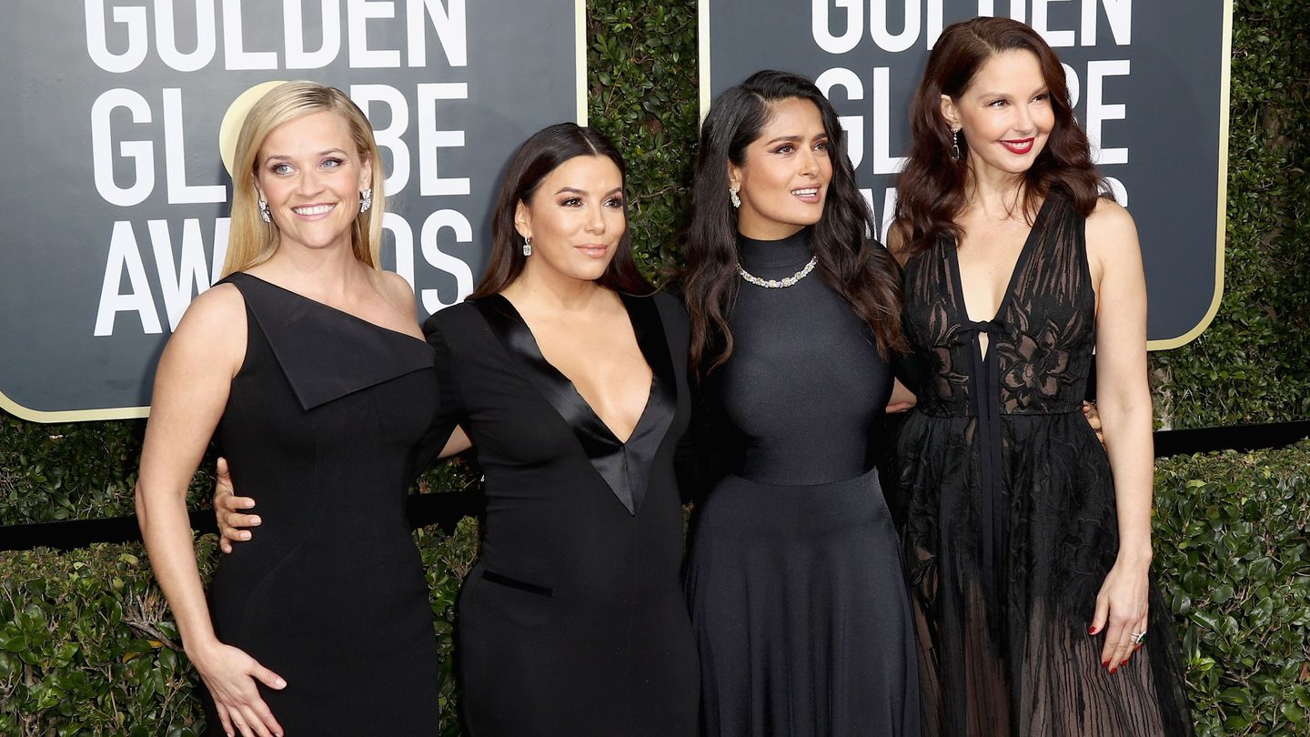 These Celebs Perfectly Explained Why They Wore Black To The Golden Globes