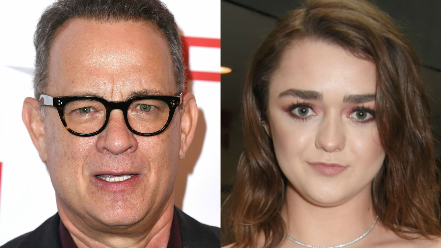 Maisie Williams Just Casually Put Tom Hanks On Arya's Game of Thrones Kill List