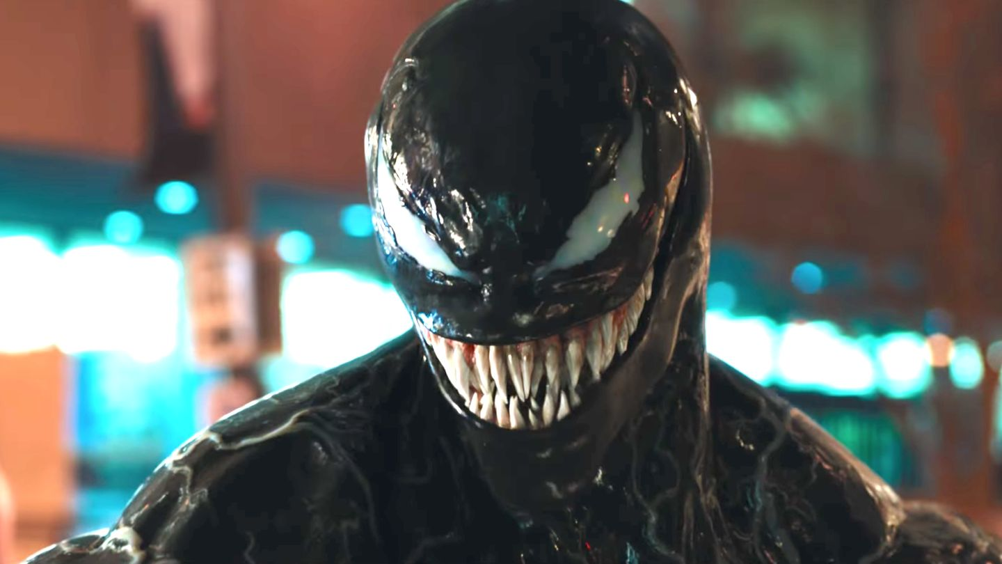 Venom Takes Over Tom Hardy s Luscious Lips In New Trailer