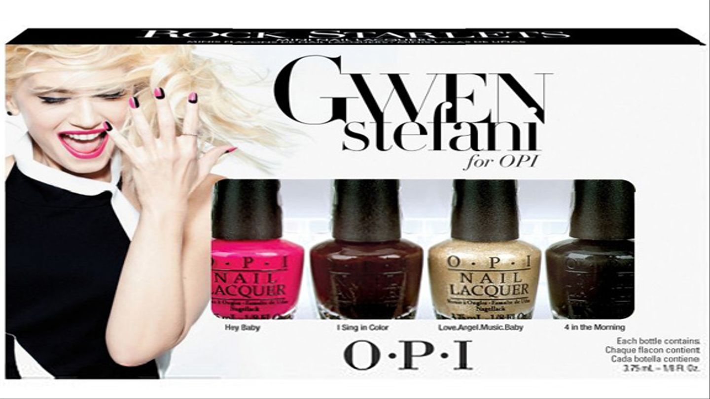 That 'Gwen Stefani For OPI' Nail Polish Collaboration Is Available Now