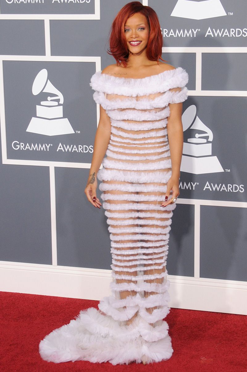 See Every Outfit Rihanna Has Ever Worn At The Grammys