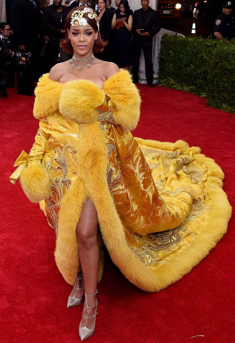 The 11 Most Memorable Met Gala Gowns From Rihanna S