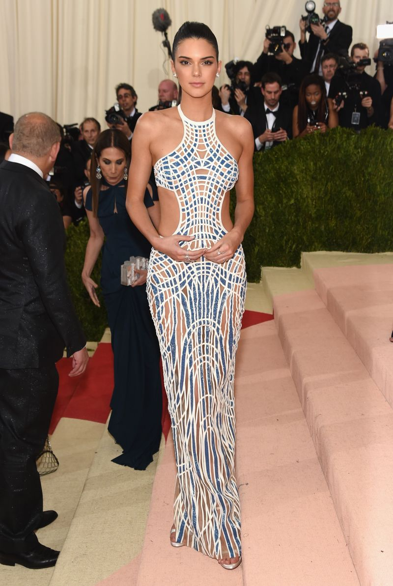Kendall Jenner's Met Gala Dress Is Like The Cute Version Of ...