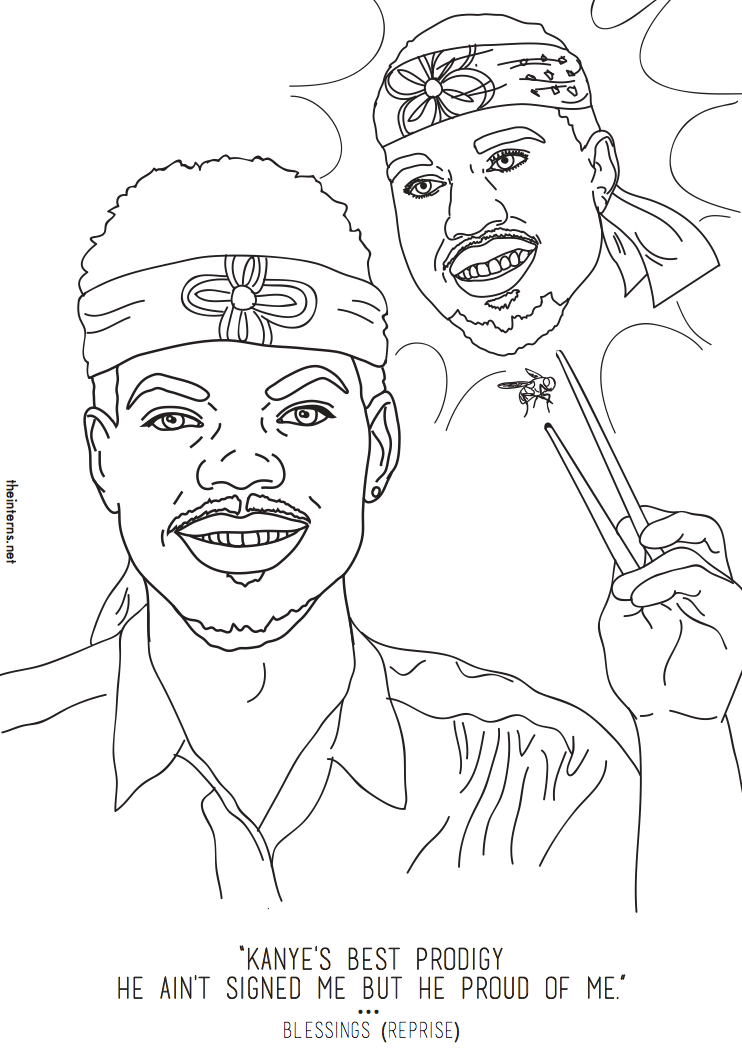 Coloring Book Mixtape by Chance The Rapper