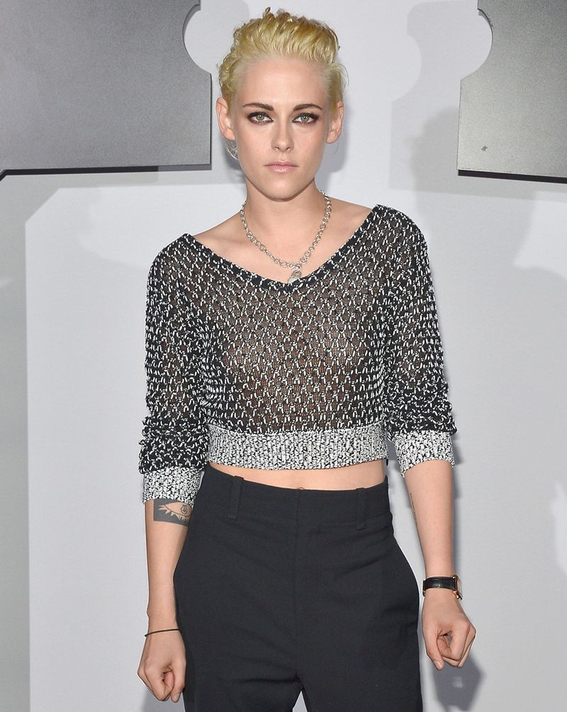 Have Kristen stewart as a blonde really. All