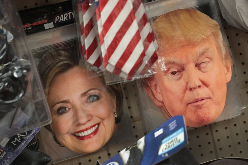 can halloween mask sales really predict the election - President Halloween Mask