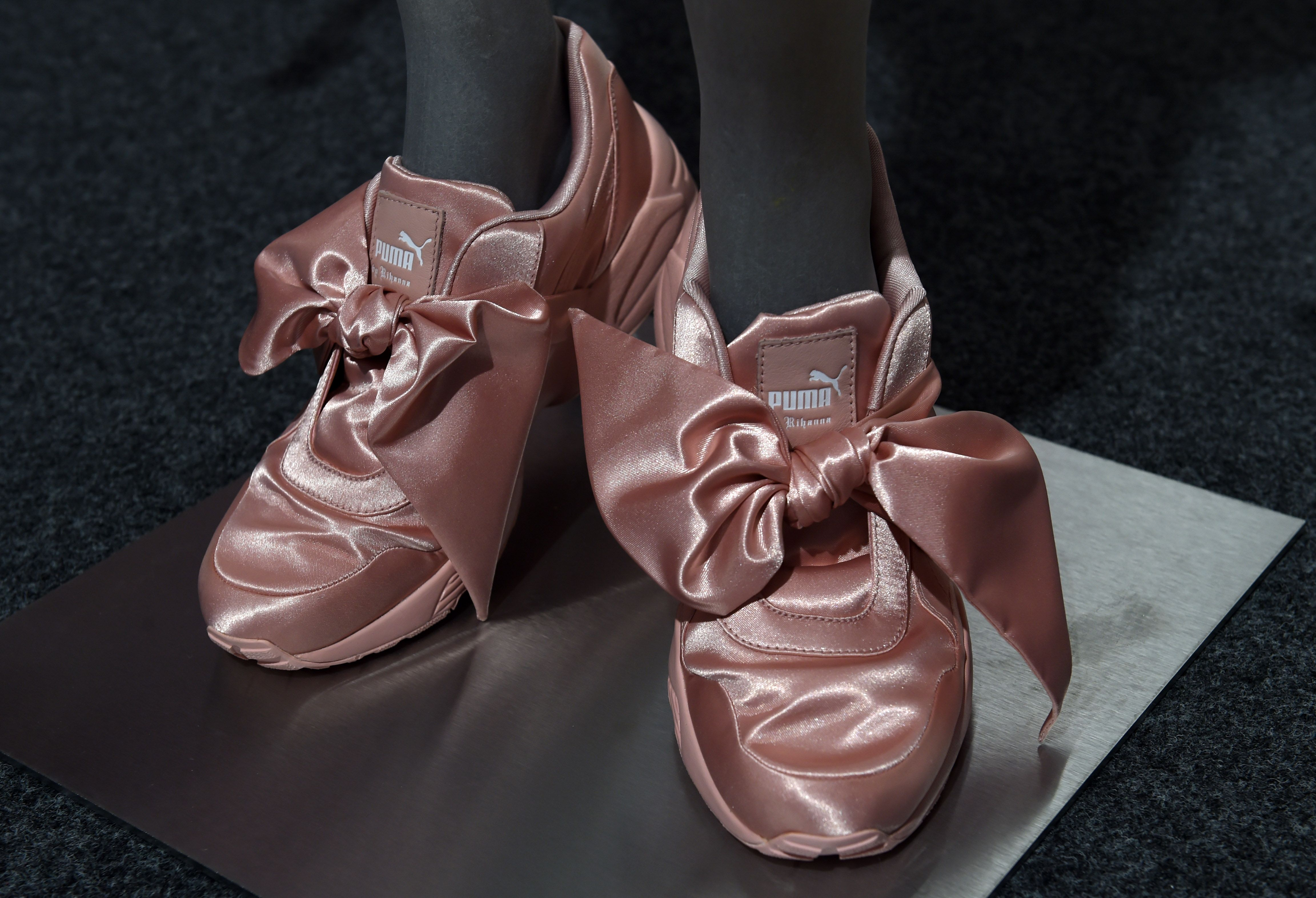 Rihanna's Latest Puma Sneaker Is Made of Satin And Impractical As ...
