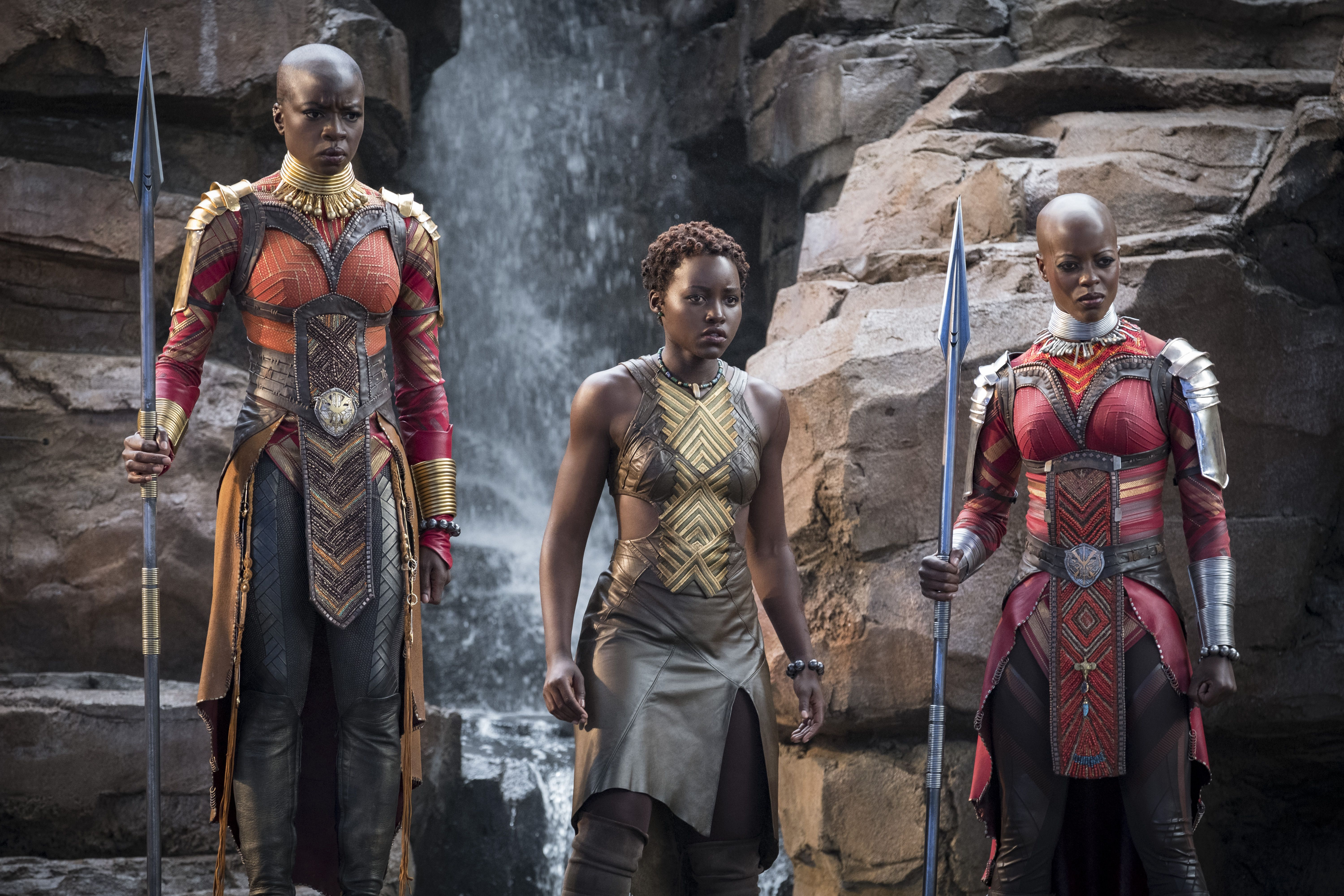 Lupita Nyong'o thrilled with buffed-up Black Panther body
