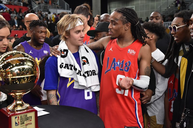 Quavo Definitely Earned His MVP Trophy At The 2018 NBA Celebrity All-Star Game - MTV