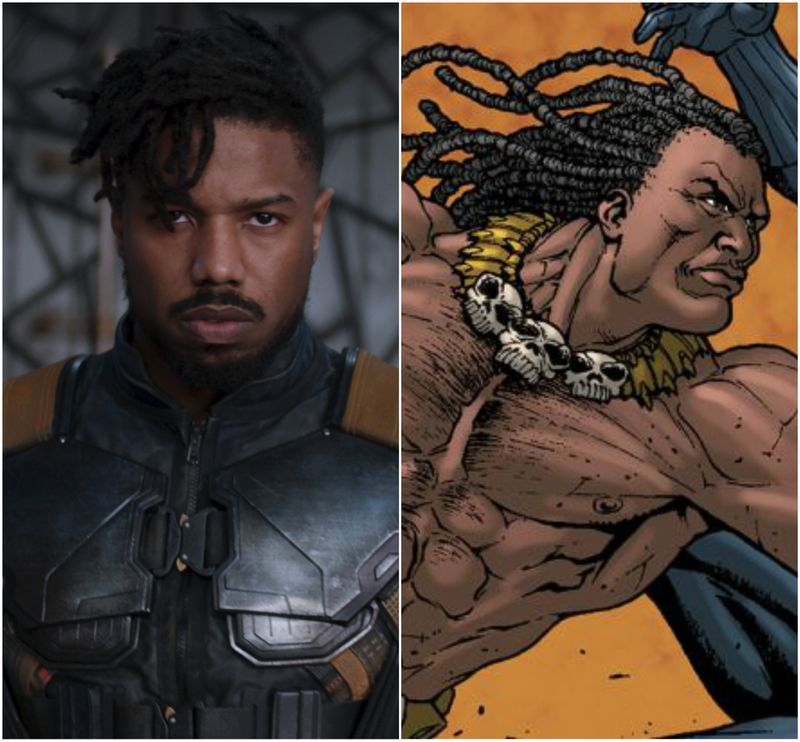 how do the black panther characters compare to their comic book counterparts mtv. Black Bedroom Furniture Sets. Home Design Ideas