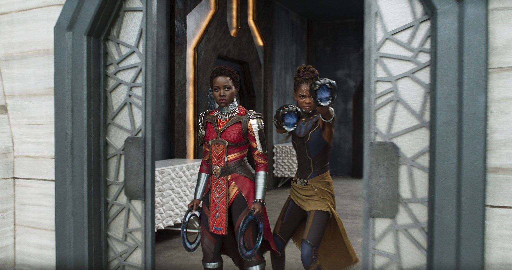 'The Black Panther's' Women of Wakanda Show Off Their Impressive Fight Moves
